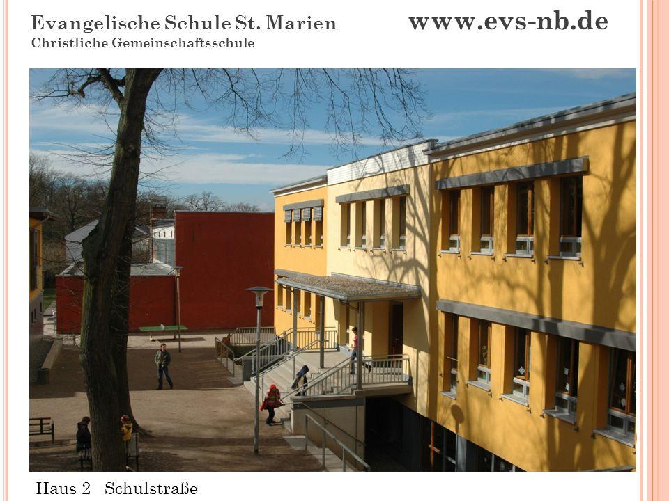 Evangelische Schule St. Marien www.evs-nb.de Christliche Gemeinschaftsschule Andachtsraum