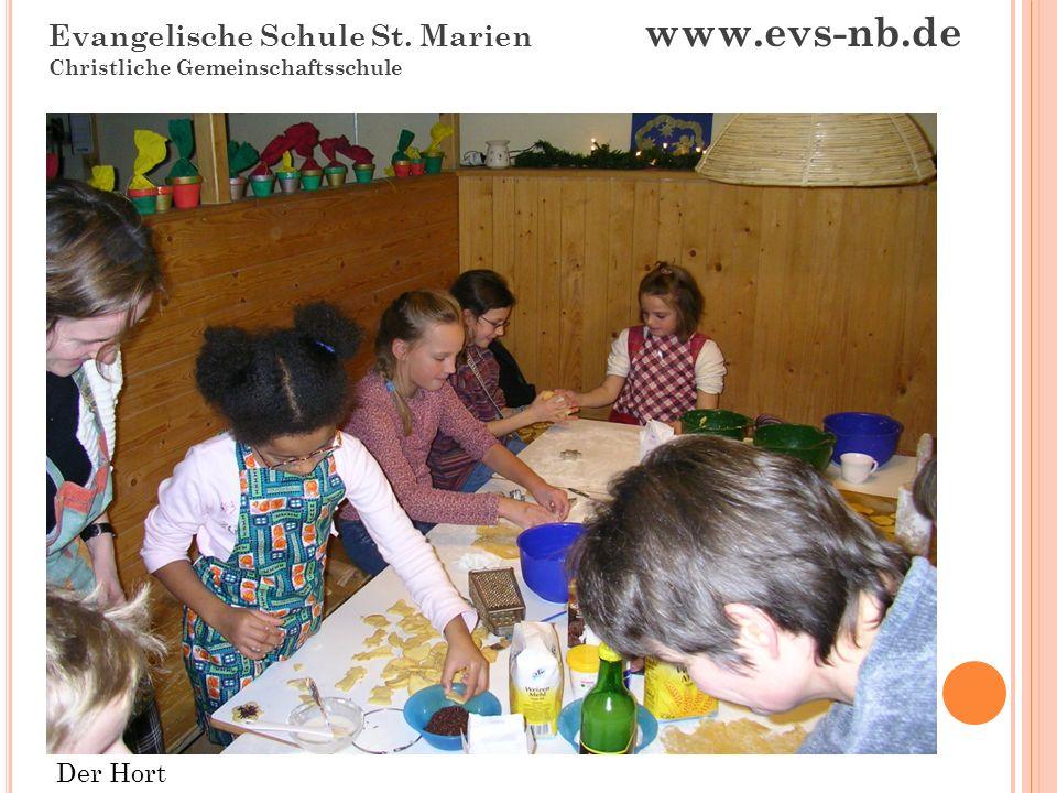 Evangelische Schule St. Marien www.evs-nb.de Christliche Gemeinschaftsschule Haus 4 NaWi-Raum