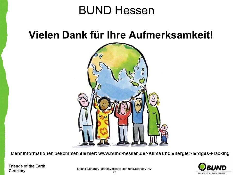 Friends of the Earth Germany Mehr Informationen bekommen Sie hier: www.bund-hessen.de >Klima und Energie > Erdgas-Fracking Online gegen Fracking unter