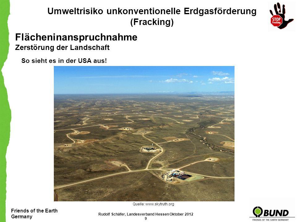 Friends of the Earth Germany Umweltrisiko unkonventionelle Erdgasförderung (Fracking) Unsere Forderungen R ECHTLICHE E INSCHÄTZUNG : Grundsätzlich teilen wir die Einschätzung, dass eine Teilreform des Bundesberggesetzes zur Klarstellung einer zeitgemäßen Anwendung bestehender Rechtsvorschriften notwendig ist.