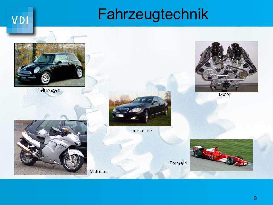 9 Fahrzeugtechnik Limousine Kleinwagen Motor Motorrad Formel 1