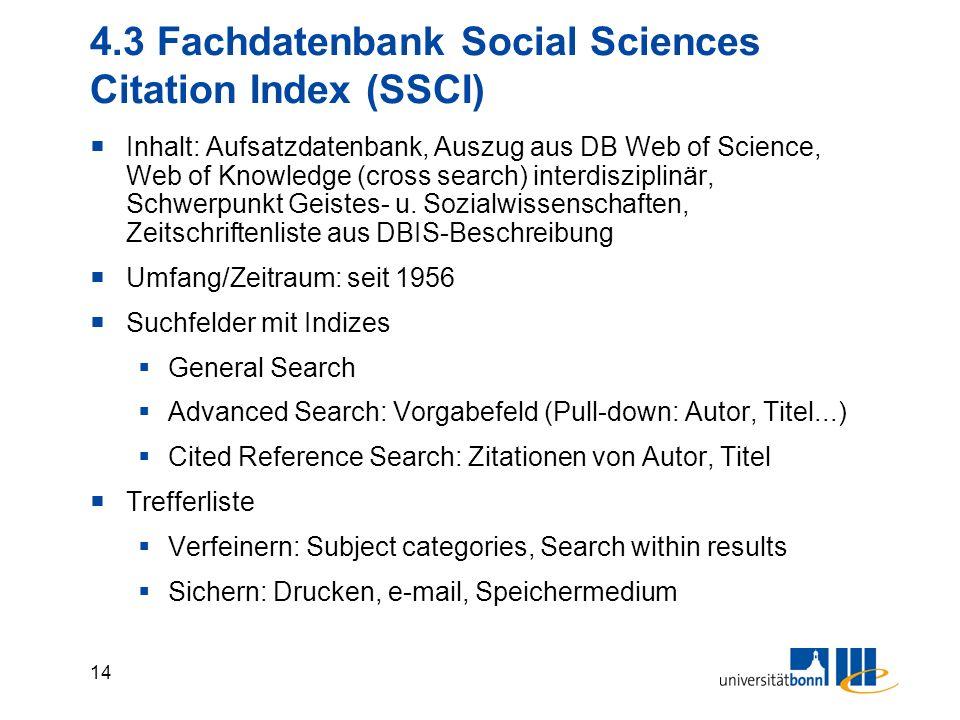 13 4.2 Fachdatenbank Econlit
