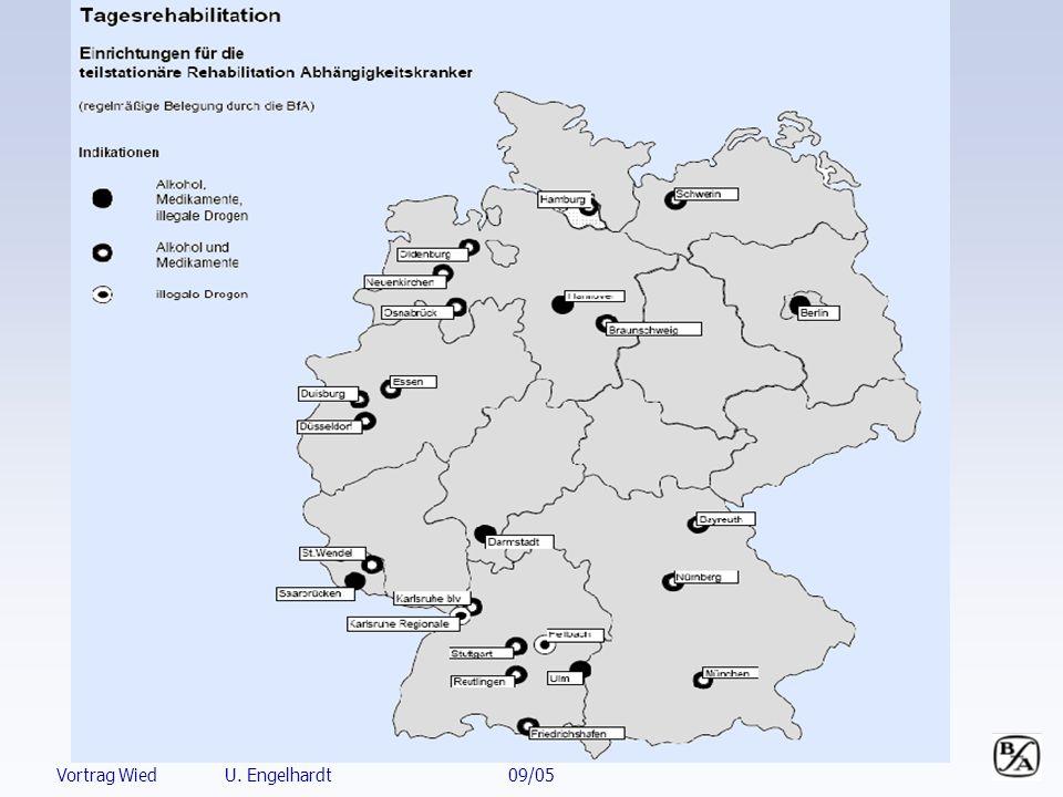 Quelle: Infosys Entwicklung der Sucht-Rehabilitation Anträge 1995 – 2004 stationär/ambulant * inklusive amb.
