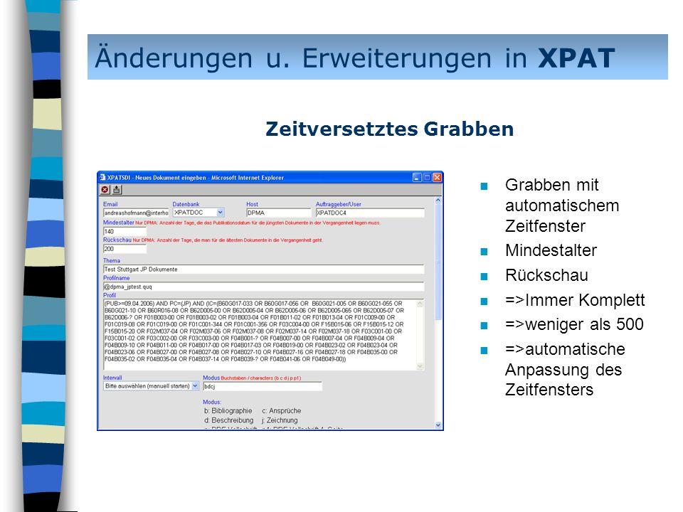 n In Planung: n Rückgabe eines Wordformates mit innenliegender Zeichnung Änderungen u.