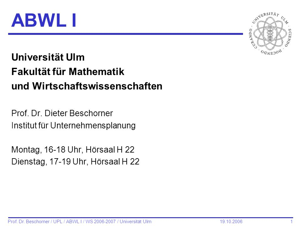 122 Prof.Dr.