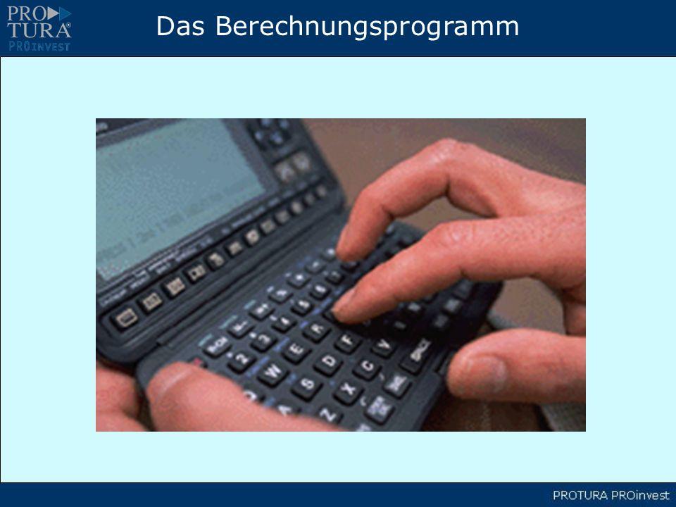 Das Berechnungsprogramm