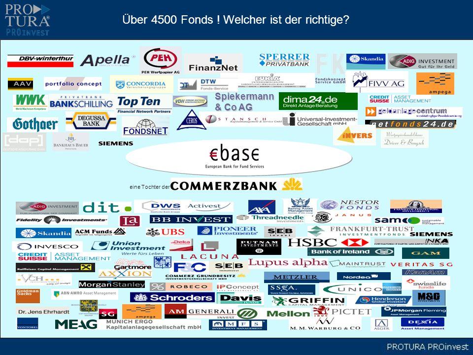 Spiekermann & Co AG Über 4500 Fonds ! Welcher ist der richtige? eine Tochter der