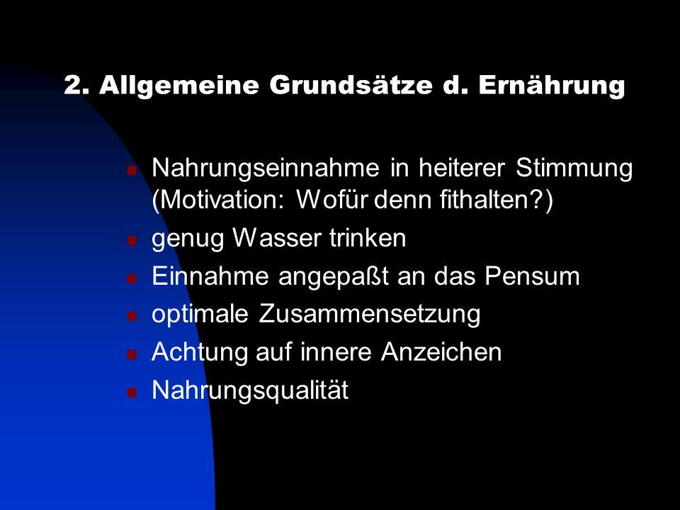2.Allgemeine Grundsätze d.