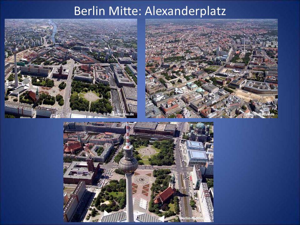 Berlin Mitte: Alexanderplatz