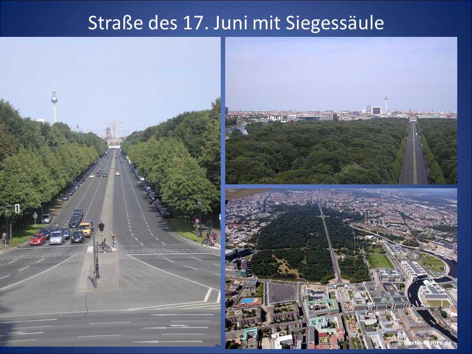 Straße des 17. Juni mit Siegessäule