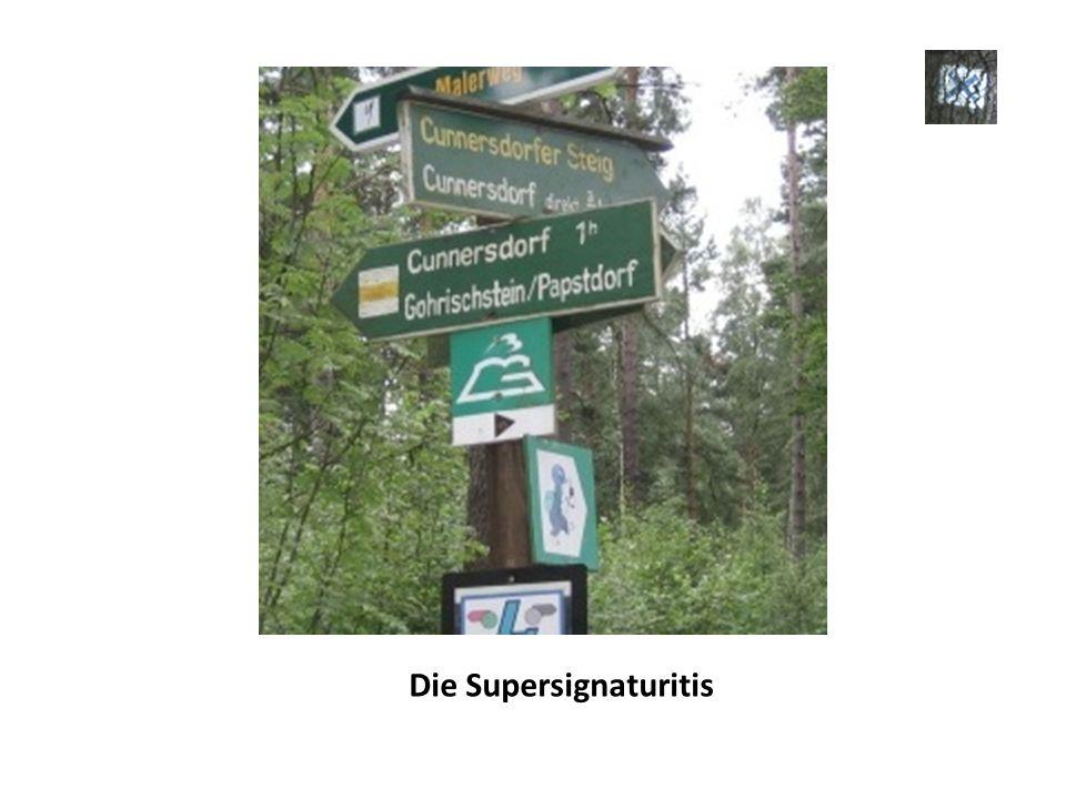 Die Supersignaturitis