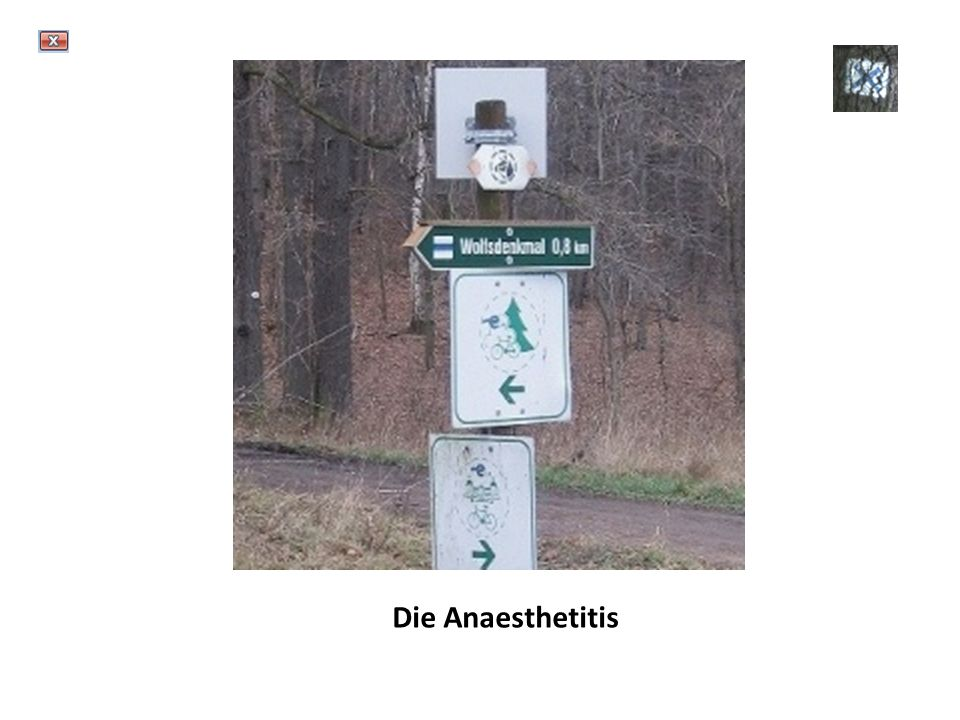 Die Anaesthetitis