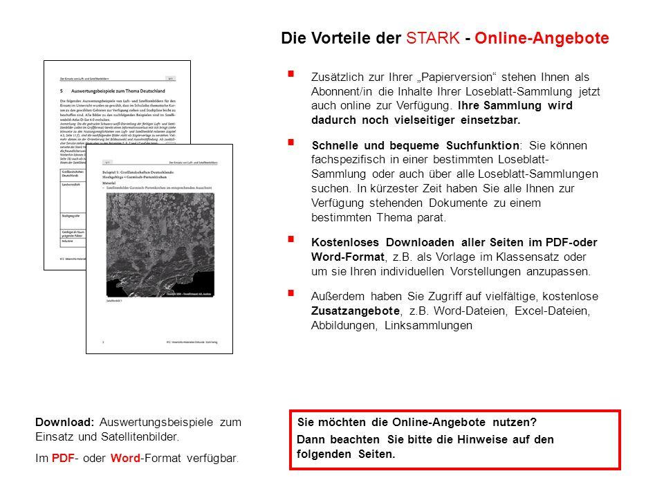 Download: Auswertungsbeispiele zum Einsatz und Satellitenbilder. Im PDF- oder Word-Format verfügbar. Sie möchten die Online-Angebote nutzen? Dann beac