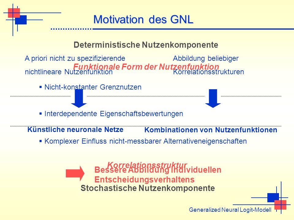 Kombinationen von Nutzenfunktionen A priori nicht zu spezifizierende nichtlineare Nutzenfunktion Abbildung beliebiger Korrelationsstrukturen Künstlich