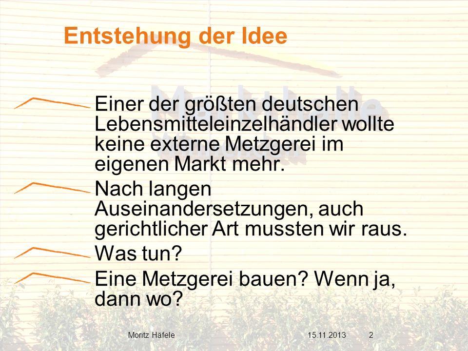 Einer der größten deutschen Lebensmitteleinzelhändler wollte keine externe Metzgerei im eigenen Markt mehr. Nach langen Auseinandersetzungen, auch ger