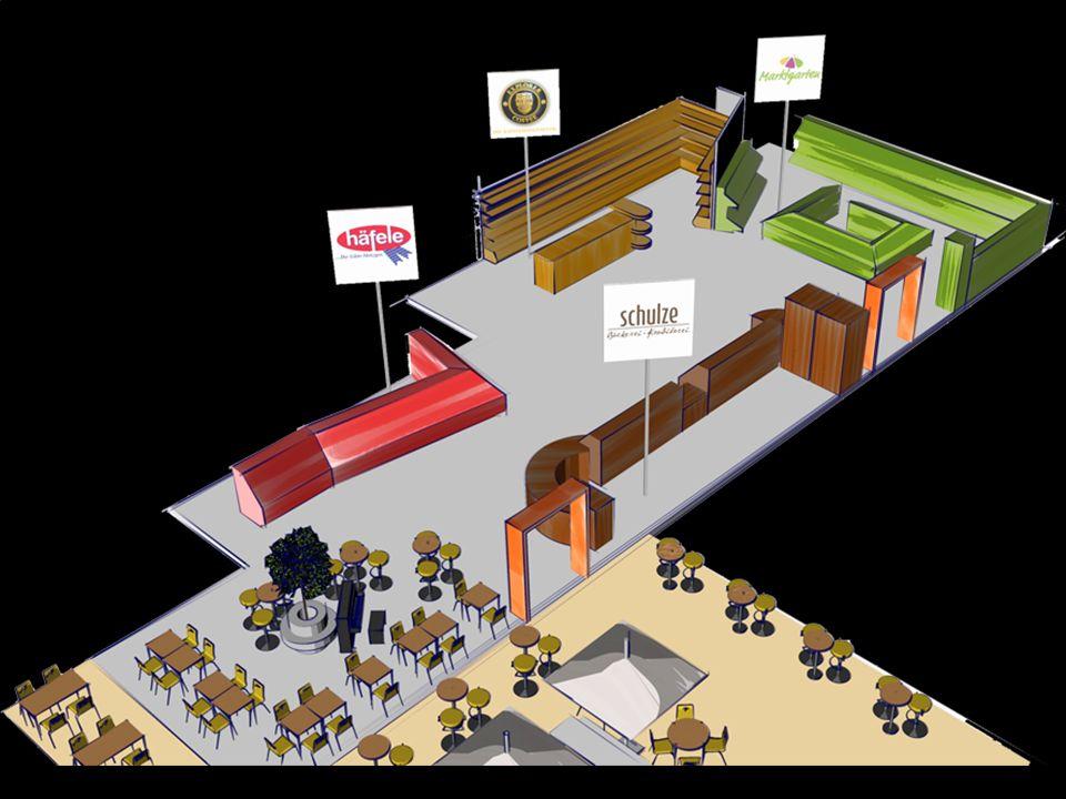 400 m² Verkaufsfläche Mo-Fr 7-20 Uhr, Sa 7-18 Uhr 80-100% Regionalität bzw.