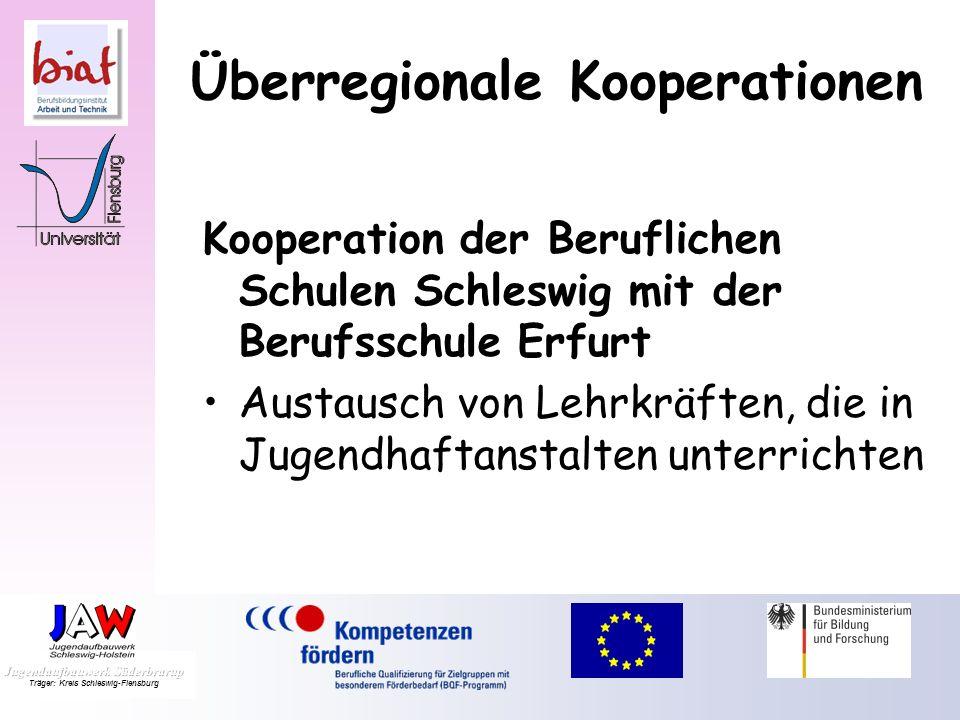 Überregionale Kooperationen Kooperation der Beruflichen Schulen Schleswig mit der Berufsschule Oldenburg in Holstein Konzept Offener Unterricht Eigens