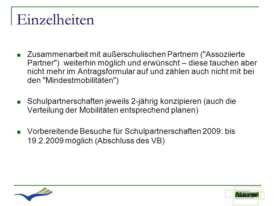 Einzelheiten Zusammenarbeit mit außerschulischen Partnern (