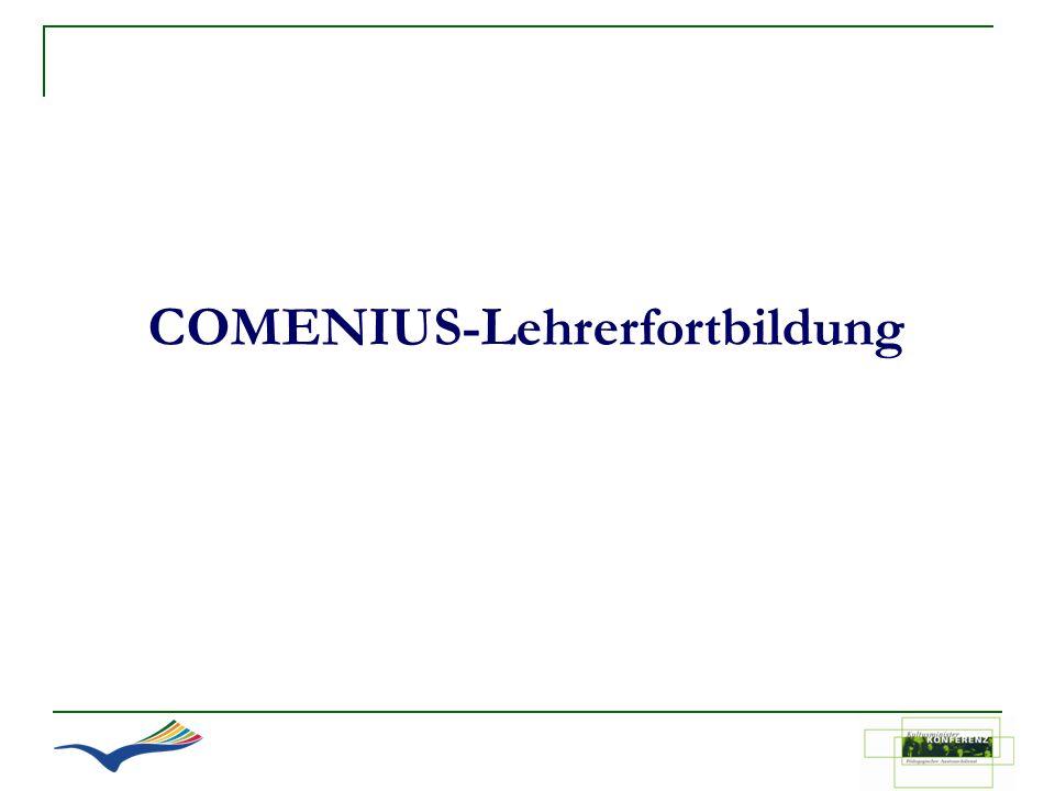 COMENIUS-Lehrerfortbildung
