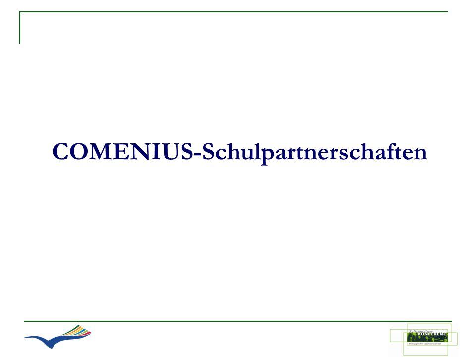 COMENIUS-Schulpartnerschaften