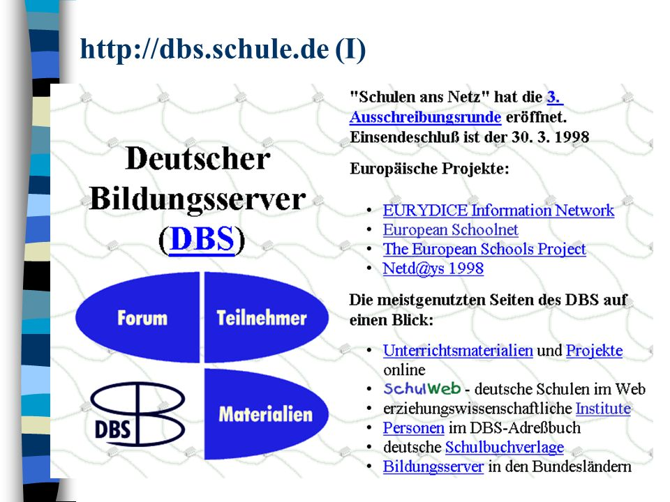 http://dbs.schule.de (II)