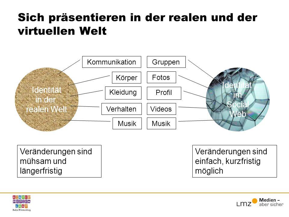 Entwicklungsaufgaben und Handlungsmöglichkeiten im Social Web Quelle: www.hans-bredow-institut.de/webzweinull/uber-das-projekt/ .