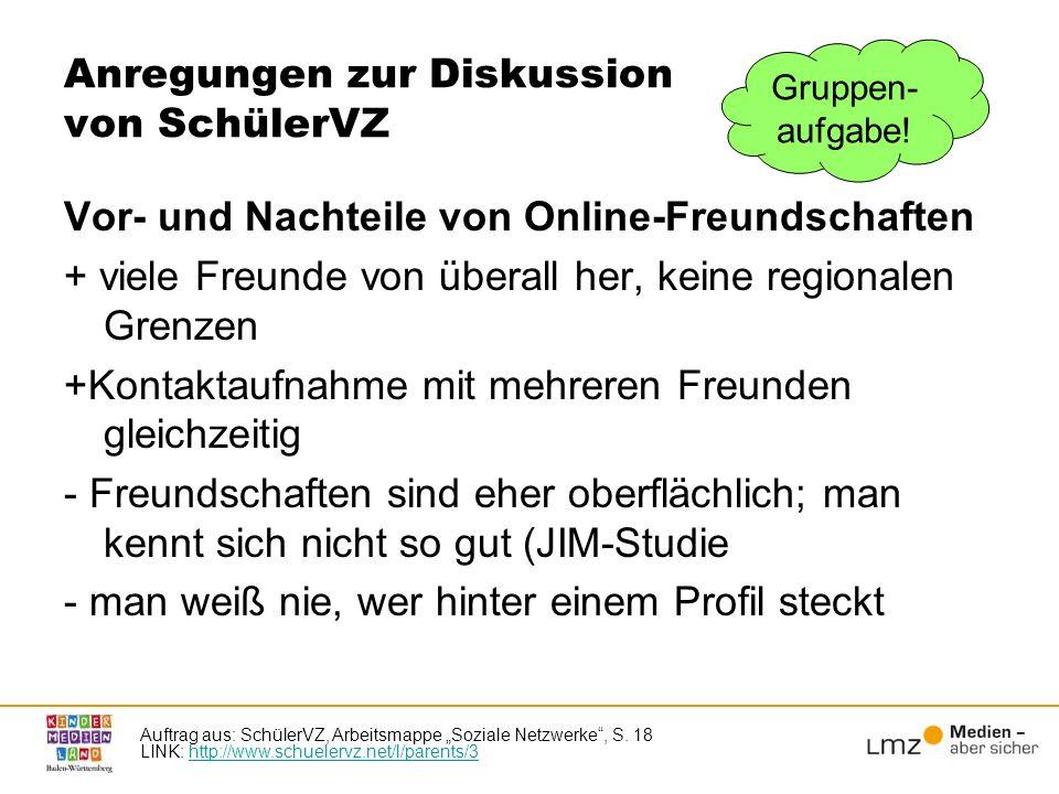 Das Social Web fördert die Selbstdarstellung Vgl.Reinecke (2008), Das Ende der Privatheit.