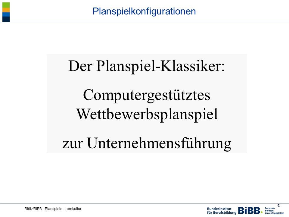 ® Blötz/BIBB Planspiele - Lernkultur DEKRA-Planspiel Der Manager im Handelsbetrieb (Screenshot)