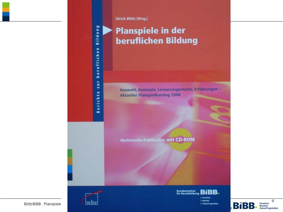 ® Blötz/BIBB Planspiele - Lernkultur