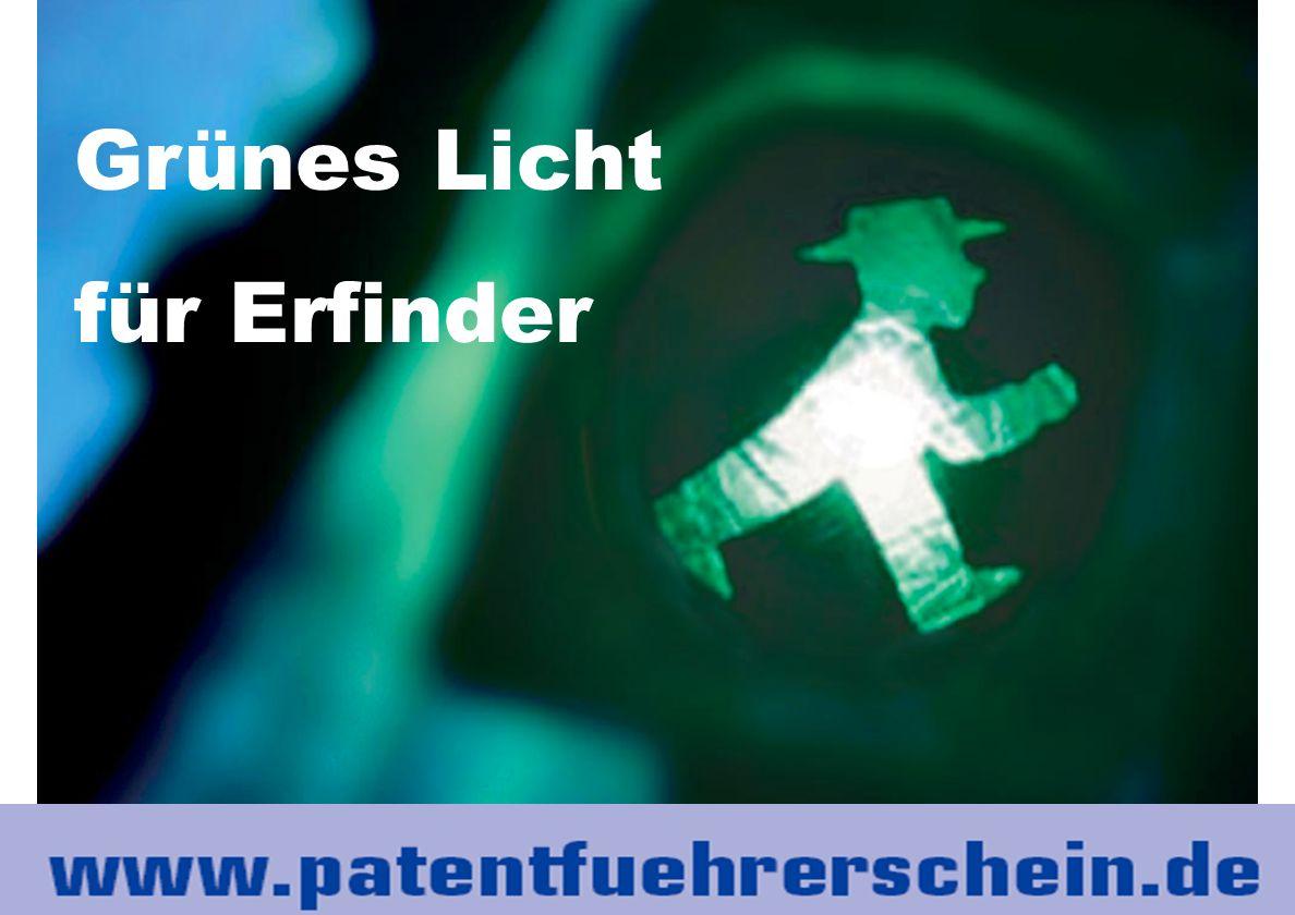 www.technologieallianz.de 35 Grünes Licht für Erfinder