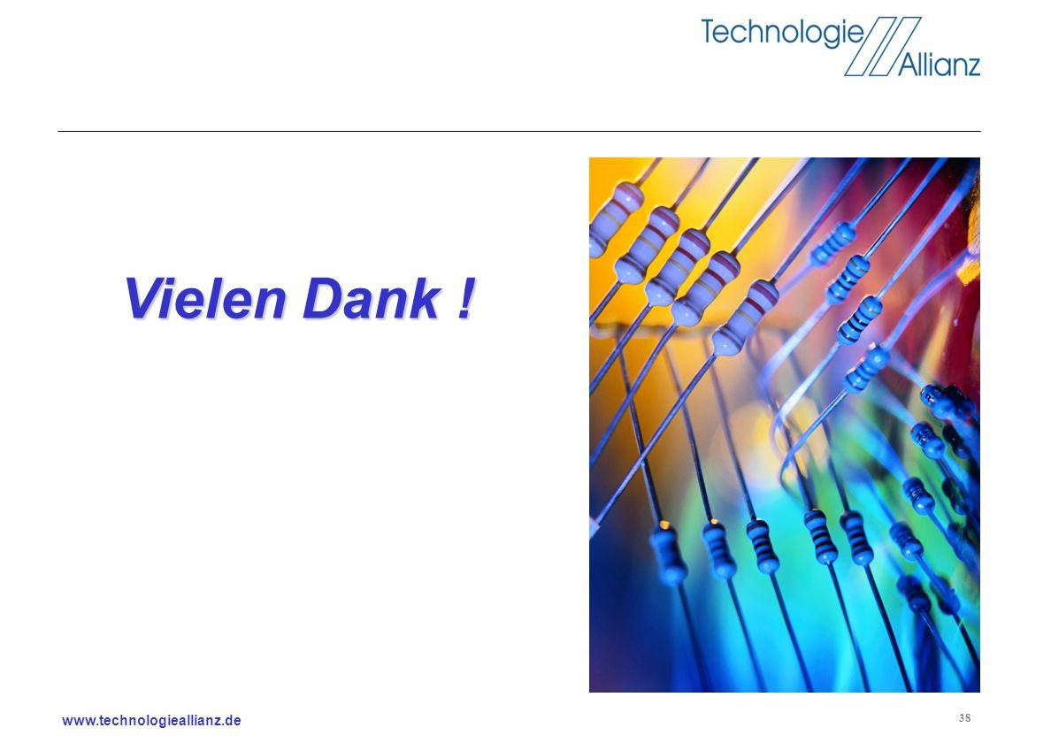 www.technologieallianz.de 38 Vielen Dank !