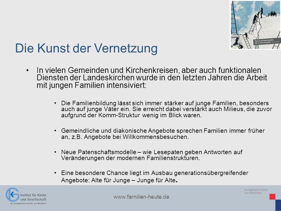 www.familien-heute.de In vielen Gemeinden und Kirchenkreisen, aber auch funktionalen Diensten der Landeskirchen wurde in den letzten Jahren die Arbeit