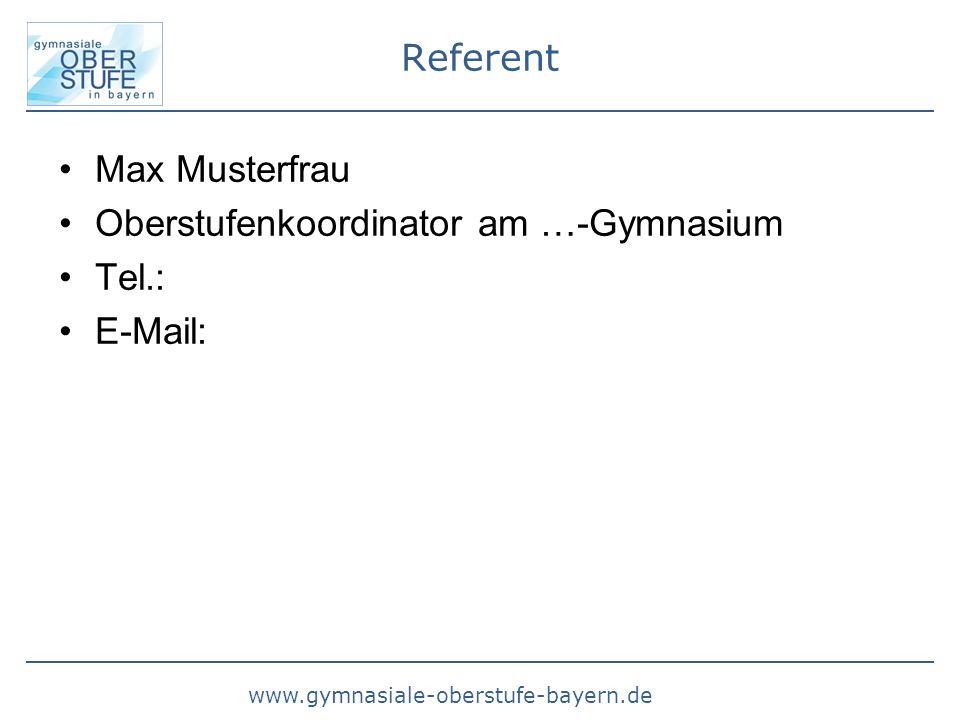 www.gymnasiale-oberstufe-bayern.de Profileinbringung HJL W-Seminar 2 Seminararbeit im W-Seminar entspricht 2 P-Seminar entspricht 2 -Spanisch (spät) als Fs2 - für Sport bzw.