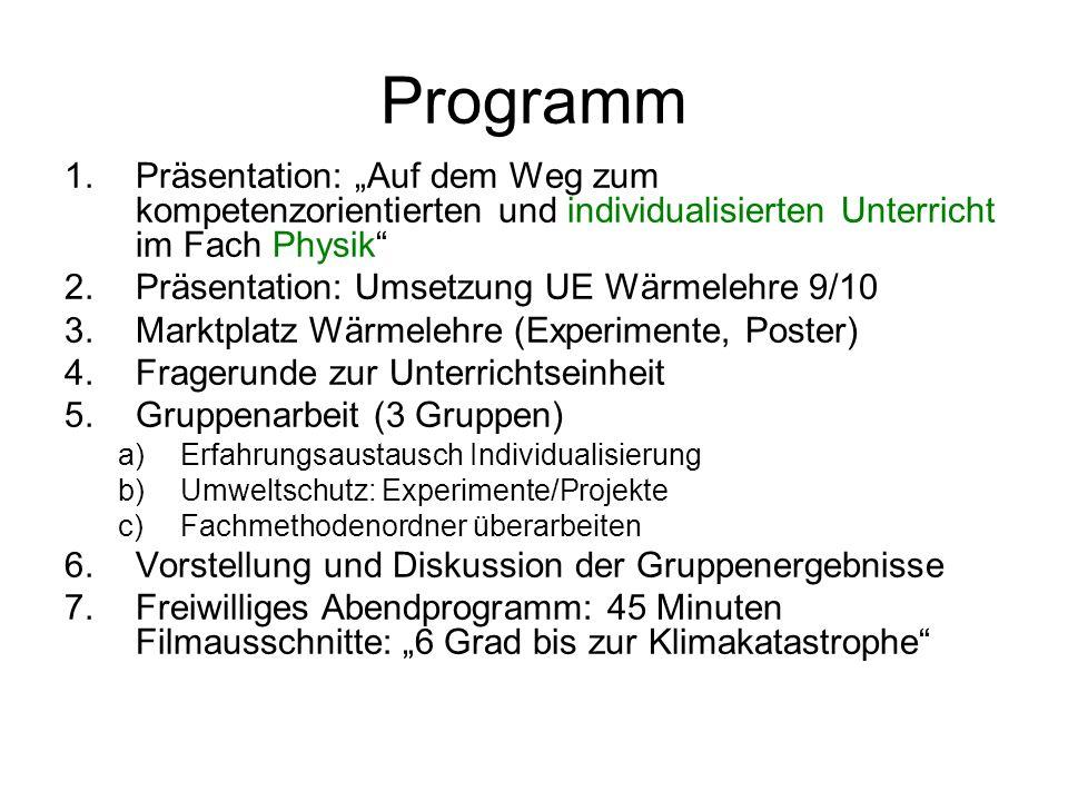 Impressum Mitglieder der zentralen Projektgruppe Physik: – StD Florian Karsten, Seminar Stuttgart – StD Volker Nürk, Gymnasium Walldorf – StD Michael Renner, Seminar Tübingen – RSDin Dr.