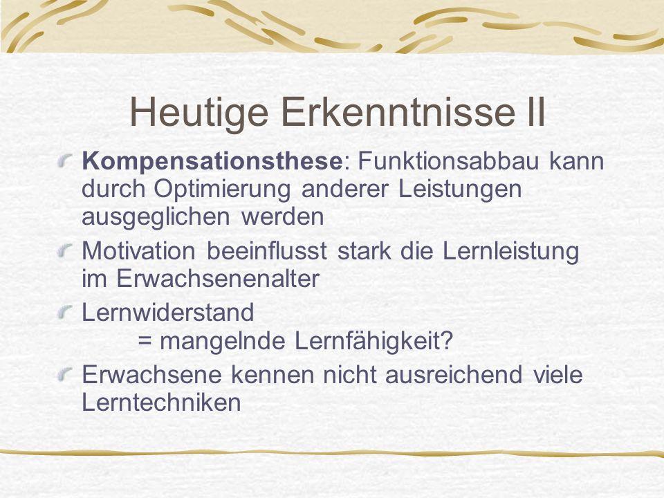 Quelle: Horst Siebert: Didaktisches Handeln in der Erwachsenenbildung 2.