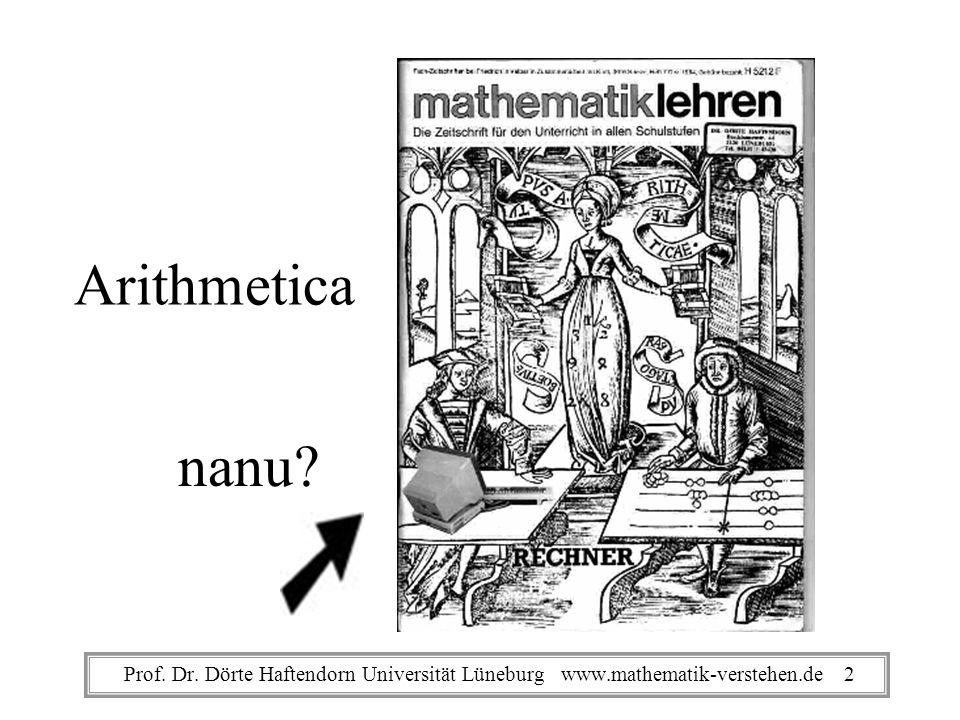 Folgen, Progression Prof. Dr. Dörte Haftendorn Universität Lüneburg www.mathematik-verstehen.de 43