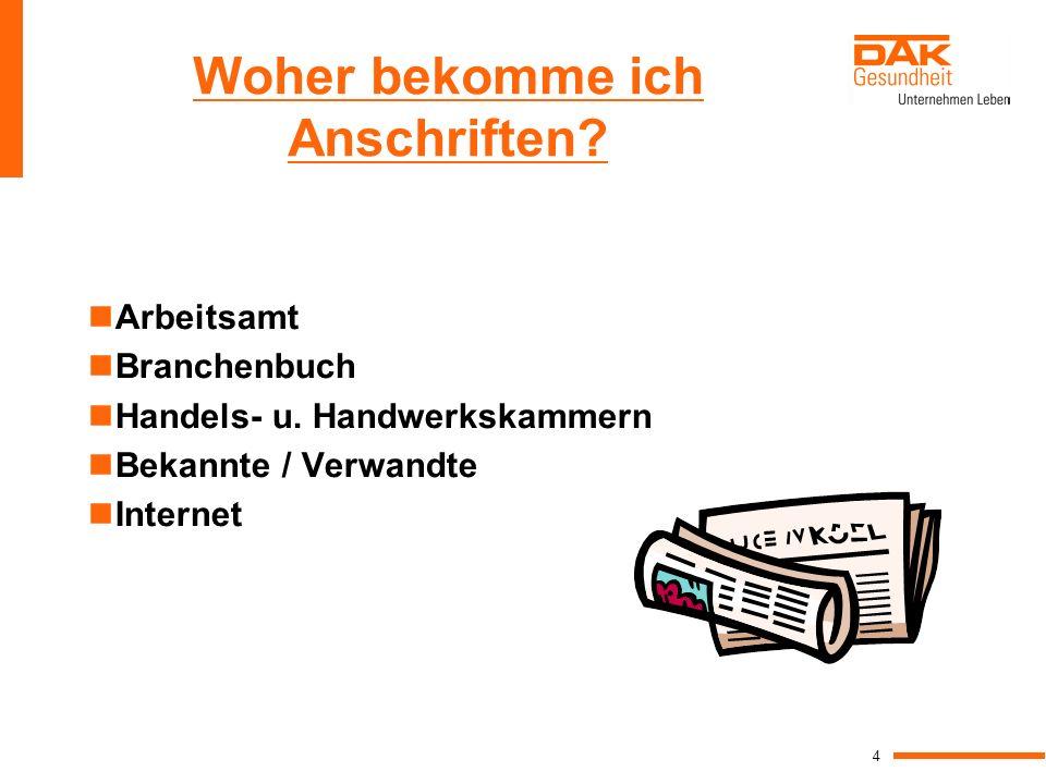 15 weiteres Beispiel: Sehr geehrte Damen und Herren, Ihre Anzeige in der Schwäbischen Zeitung hat mich sehr angesprochen.