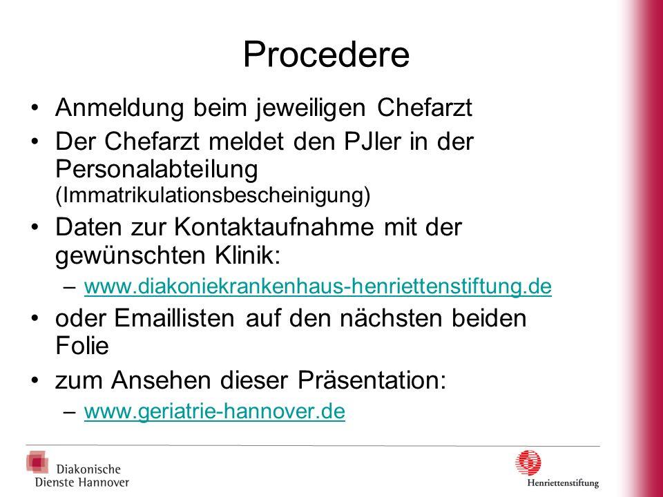 Weitere Informationen www.diakonniekrankenhaus-henriettenstiftung.de www.geriatrie-hannover.de
