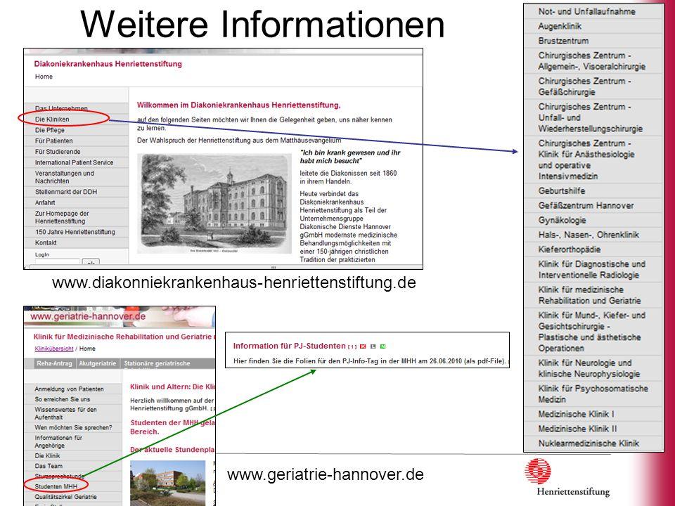 Email-Liste der Kliniken im DKH - Marienstrasse Med.