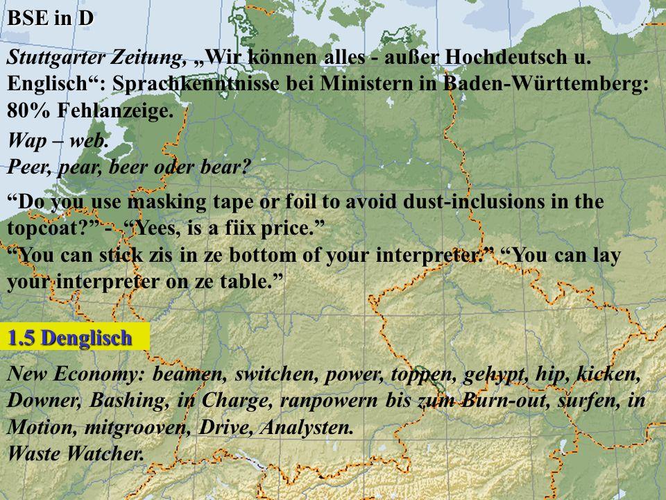 Stuttgarter Zeitung, Wir können alles - außer Hochdeutsch u. Englisch: Sprachkenntnisse bei Ministern in Baden-Württemberg: 80% Fehlanzeige. Wap – web
