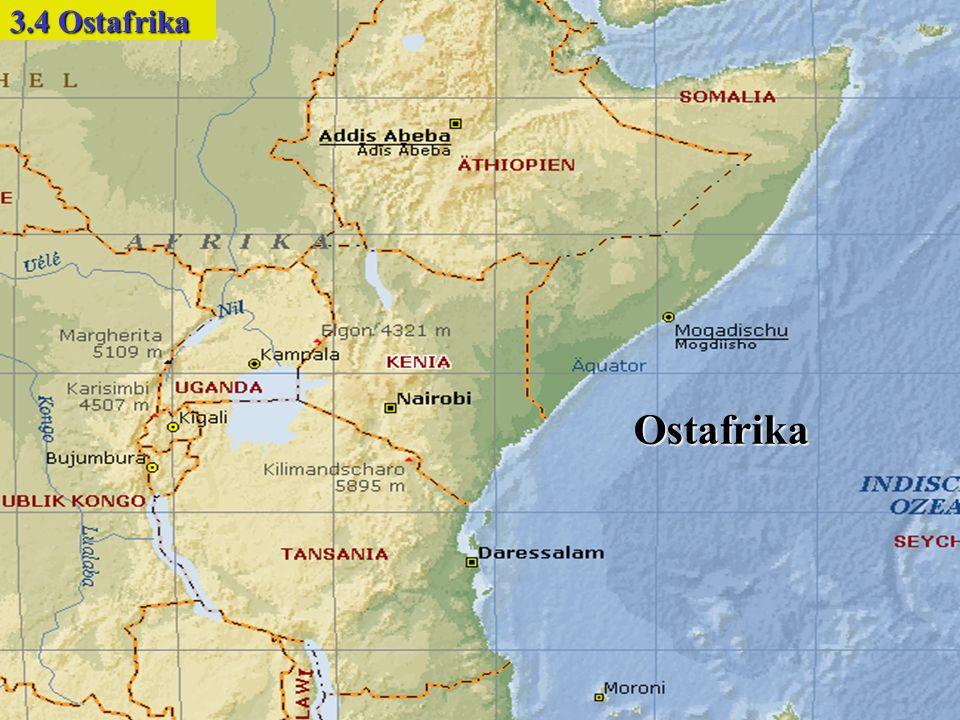 Ostafrika 3.4 Ostafrika