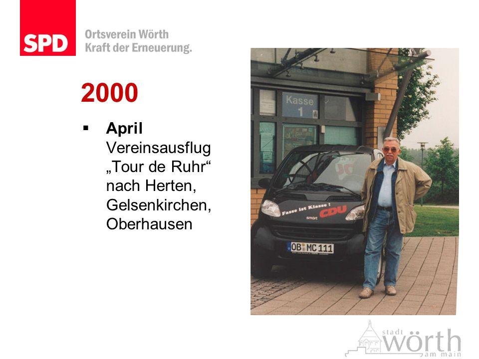April Vereinsausflug Tour de Ruhr nach Herten, Gelsenkirchen, Oberhausen