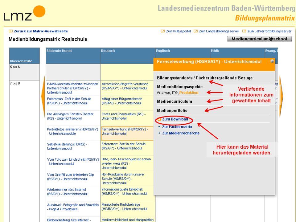 15.11.201317 Vertiefende Informationen zum gewählten Inhalt Hier kann das Material heruntergeladen werden.
