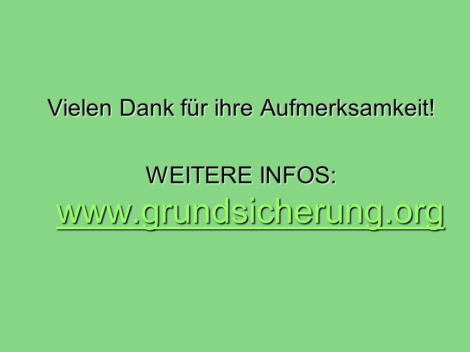 Vielen Dank für ihre Aufmerksamkeit! WEITERE INFOS: www.grundsicherung.org www.grundsicherung.org