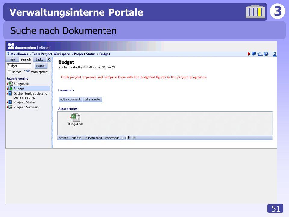 3 Verwaltungsinterne Portale 51 Suche nach Dokumenten
