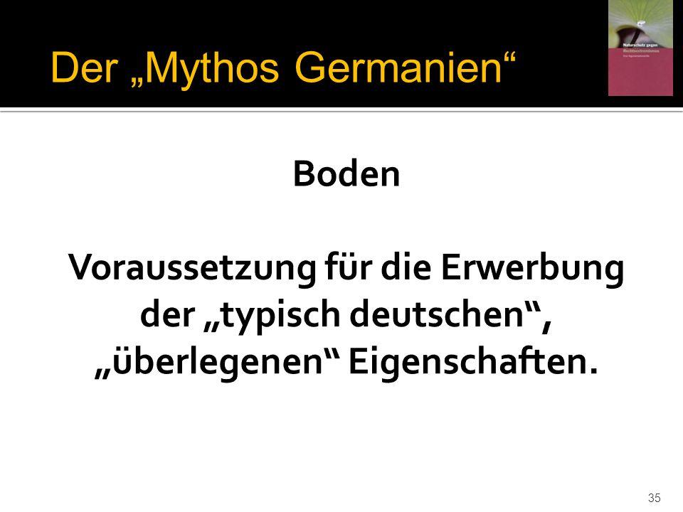 Der Mythos Germanien 35