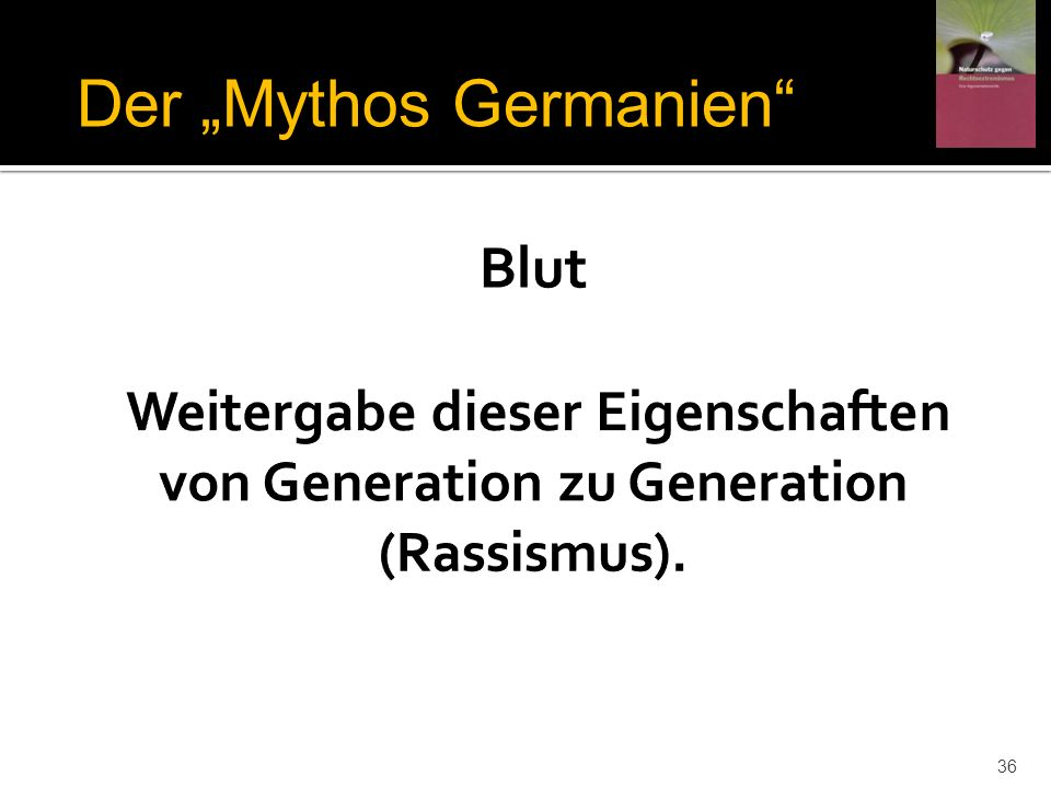 Der Mythos Germanien 36