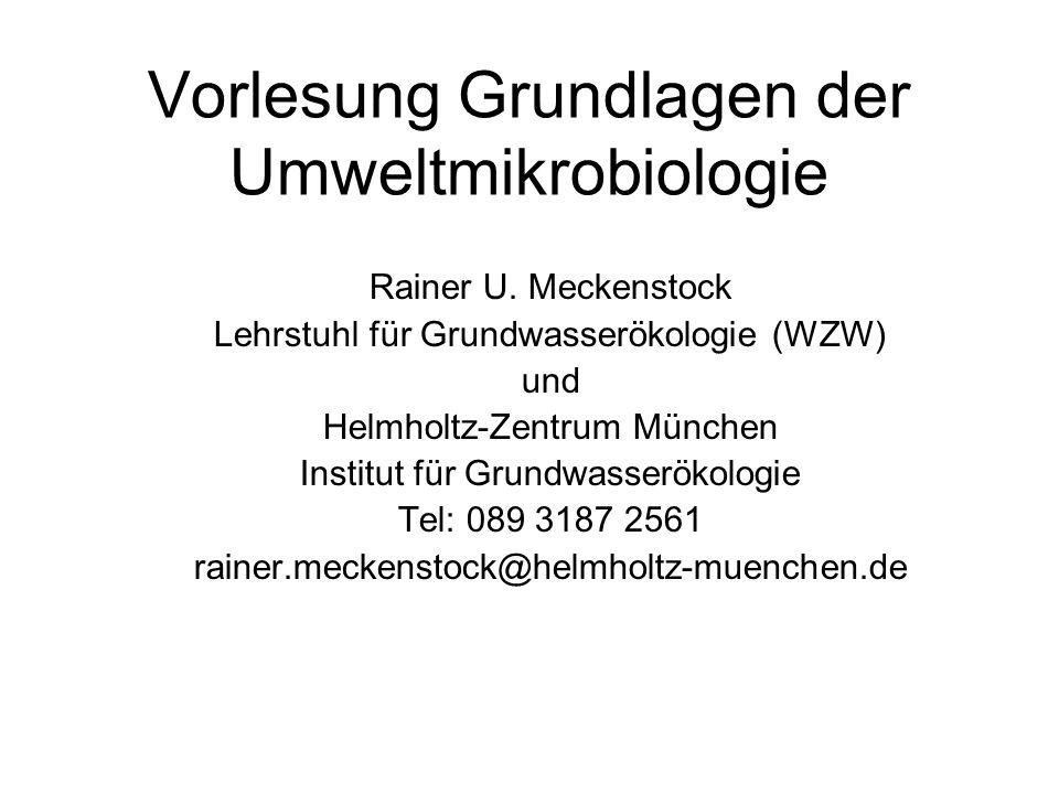 Empfohlene Literatur Fuchs: Allgemeine Mikrobiologie (Thieme) Dixon: Der Pilz der John F.