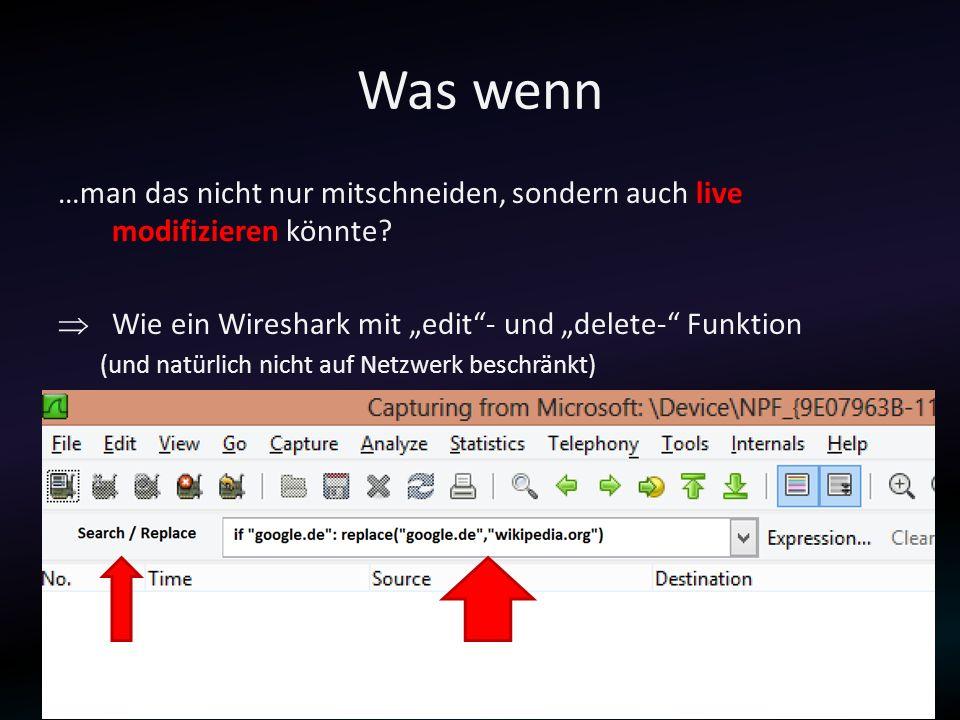 Device Scanner Mögliche Devices... Verfügbare I/O-Handler (OS: Win7)