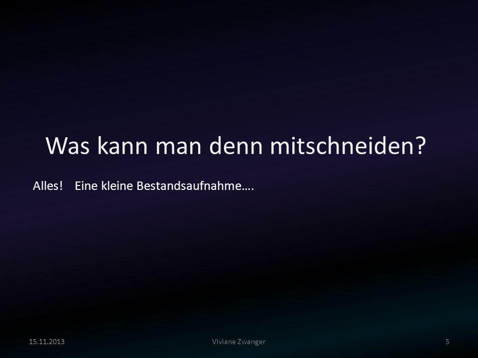 Fragen? We like IRPs! Viviane Zwanger15.11.201326